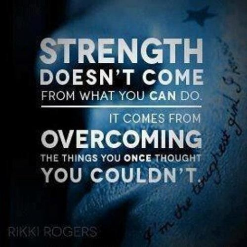StrengthOverNewObstacles